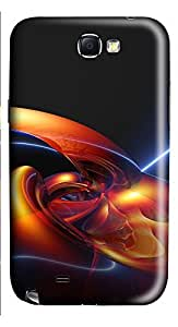 Samsung Note 2 Case High Definition Abstract 3D Custom Samsung Note 2 Case Cover