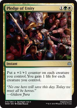 Magic: The Gathering - Pledge of Unity - War of The Spark (Star Unity)