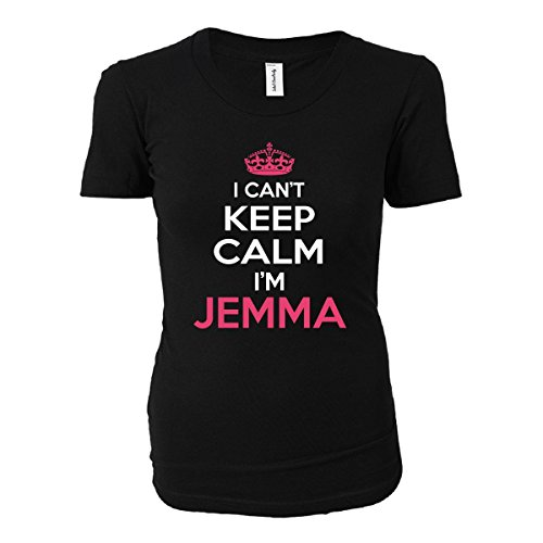 I Cant Keep Calm I'm Jemma Funny Gift - Ladies T-shirt