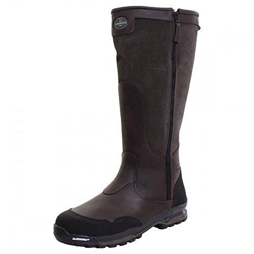 Le Chameau Condor Zip LCX Mens Boot Vert Bronze