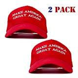 ZOORON Make America Great Again Hat, Donald Trump MAGA Cap Adjustable Baseball Hat with USA Flag