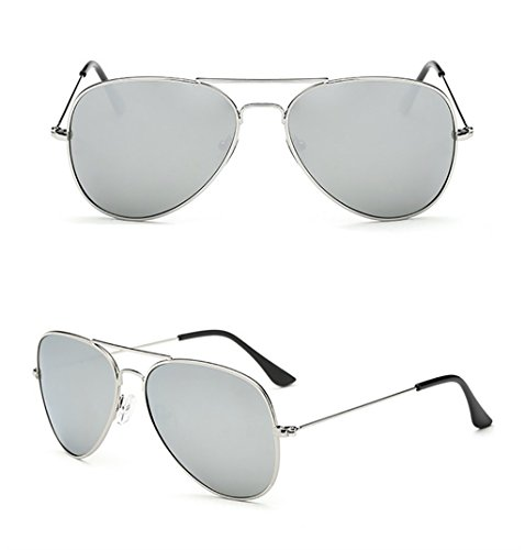 UV400 Aviador Metal Gafas SunglassesMAN Sol 5 protección Yxsd de para Color con Marco de Hombre de de 3 Bpp6Uq