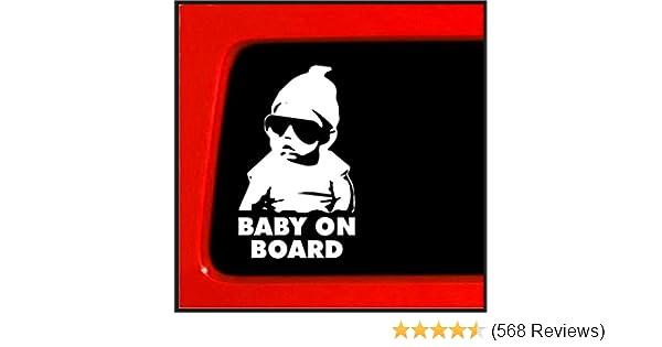Amazon Baby On Board Sticker Carlos Hangover Funny Car Vinyl