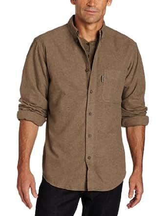 Woolrich Men's Sportsman Chamois Shirt, Shale Heather, X-Large