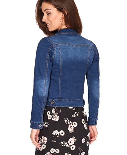 Jean Taille Bleu Cintre Femme 2332 Veste Bleu Pas KRISP Cher w57Cqaxx