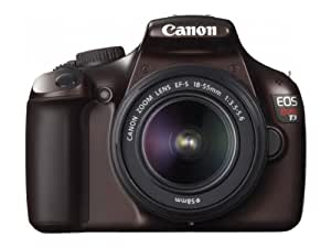 Canon 5159B003 EOS Rebel T3 12.2 MP Digital SLR with 18-55mm DC II Lens and EOS HD Movie Mode (Brown)