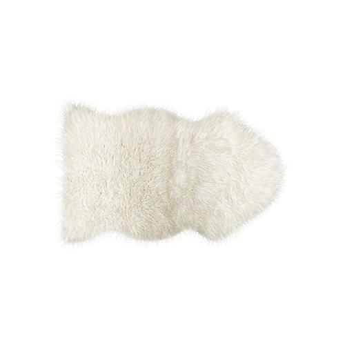 LUXE Gordon Sheepskin Throw White product image