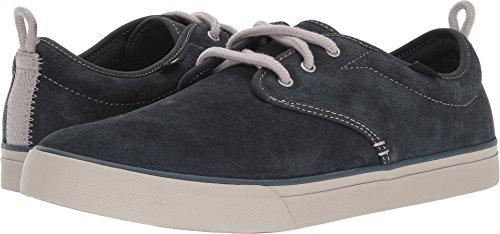 Sanuk Mens Guide Plus Suede Sneaker Dark Charcoal Size (Dark Guide)