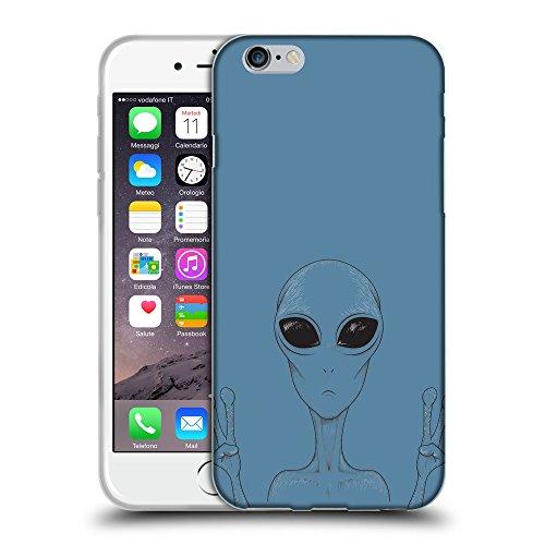 """GoGoMobile Coque de Protection TPU Silicone Case pour // Q08580600 Téléphone étranger Aviation Bleu // Apple iPhone 6 PLUS 5.5"""""""