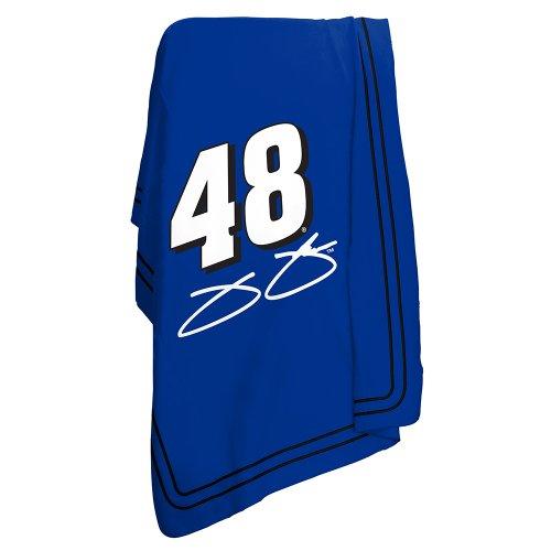 Jimmie Johnson Official NASCAR 50 inch x 60 inch Fleece Throw Blanket by Logo Chair Inc.