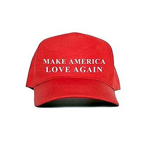 Make America Love Again Hat Donald Trump Republican Hat,Make America Great Again (RED)