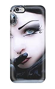 New BVCrEMq28640XPLEy Goth Girl Skin Case Cover Shatterproof Case For iphone 5 5s