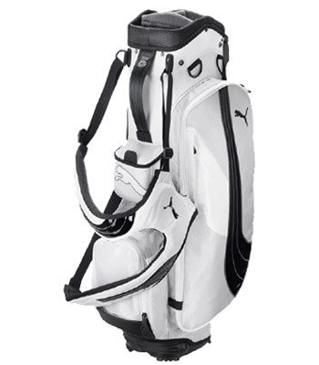Puma Formation Stand Golf Bag (White, 9-Inch)
