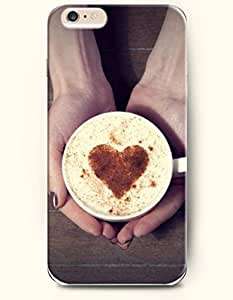 OFFIT iPhone 6 Plus Case 5.5 Inches Hand Holding a Cup of Coffee