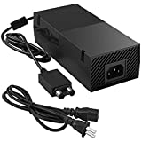 Ukor Xbox One Power Supply Brick, [Upgraded Version] Xbox AC Adapter Replacement Charger Power Cord Cable for Microsoft…