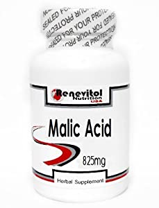 Malic Acid 825mg 200 Capsules ~ Renevitol