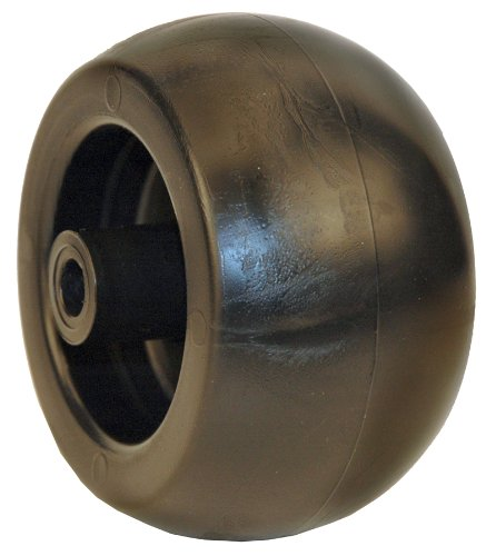 Lawn Mower Plastic Wheel (MaxPower 335096 5 x 2-3/4 Inch Deck Wheel Replaces MTD 734-3058, 734-3058B, Murray 092265, 092683, Cub Cadet 734-3058B, 753-04856A and Many Others)