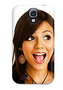 New Arrival Case Cover With QbaFlOE12034VKLXg Design For Galaxy S4- Victoria Justice