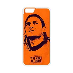 iphone6 4.7 inch Case, Associazione Sportiva Roma Francesco Totti Fourteen Cell phone case White for iphone6 4.7 inch - SDFG8755375