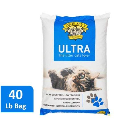 Dr. Elsey's Precious Cat Ultra Cat Litter, 40-lb