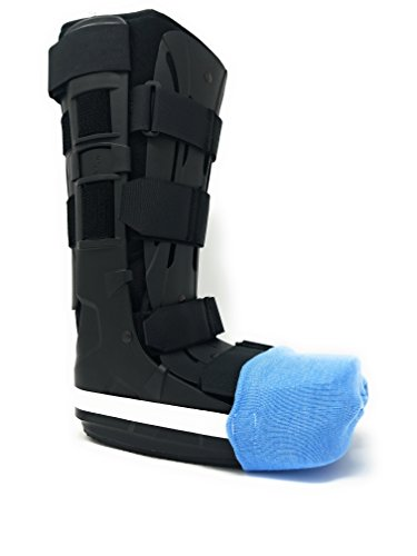 Premium Cast Sock Toe Cover - Fits Leg, Ankle, and Foot Casts - Heavy Duty for Extra Warmth and Protection