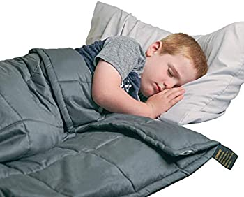 COMHO Weighted Blanket for Kids with Glass Beads