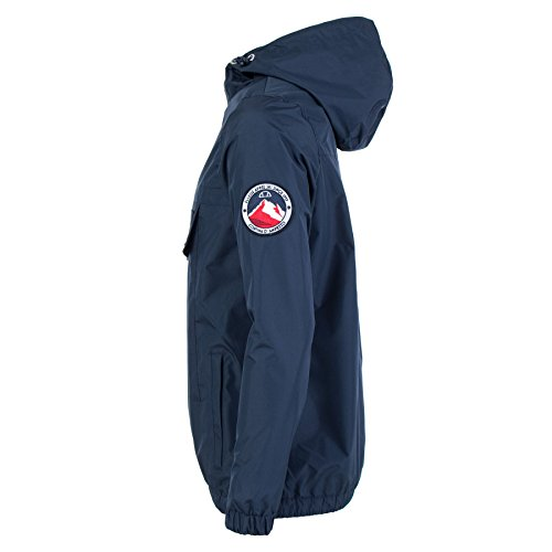 Quarter Ellesse Jacket Overhead Blue Zip Navy p4nwdqF4rx