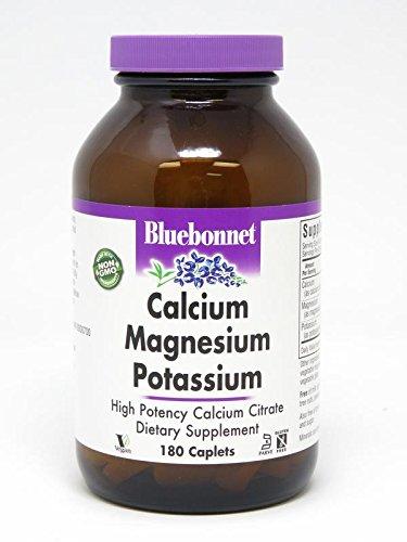 (BlueBonnet Calcium Magnesium Plus Potassium Caplets, 180)