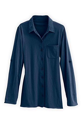 Fair Indigo Organic Relaxed Button product image