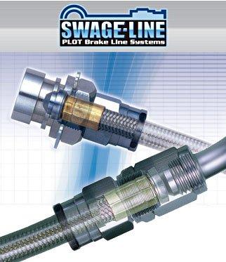 スウェッジライン ブレーキライン [ステンレスエンド] フォレスター SG5   B00A9QIT1M