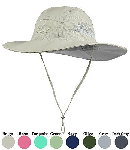 Purjoy Sun Hat for Men & Women,Wide Brim UPF 50+ UV Protecti