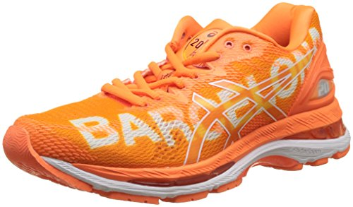Gel Nimbus Barcelona 20 3030 Femme Orange Shocking de Shocking Asics Marathon Rose Orange Chaussures Running Orange Rose White 5dxTEtwtq