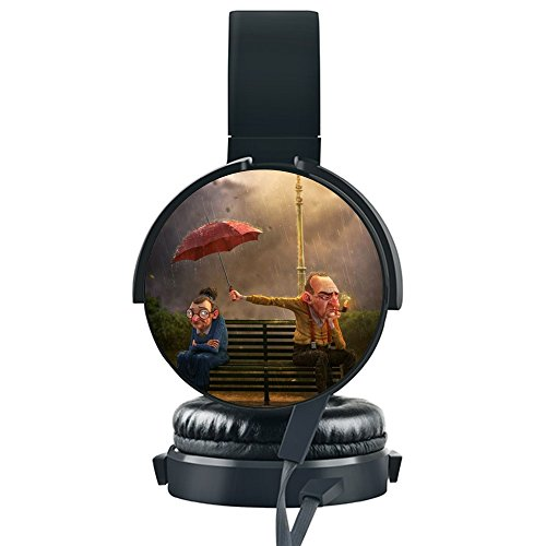 Price comparison product image Umbrella Surround Over-Ear Fold Lightweight Gaming Headset For PC / MAC / Smartphone / Table / Laptop
