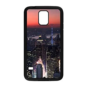 Creative phone case for Samsung Galaxy S5,city night design