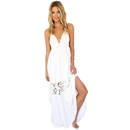 Engerla - Vestido - trapecio - para mujer blanco