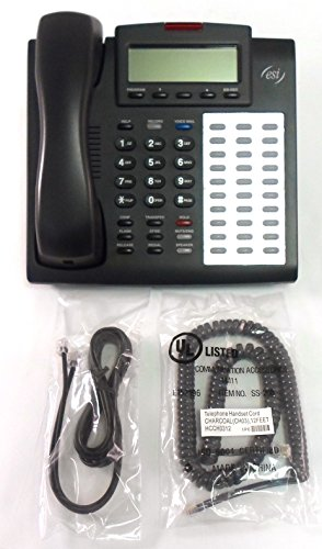 ESI Communications 48-Key DFP Charcoal Display - Refurbished (Charcoal Display Speakerphone)