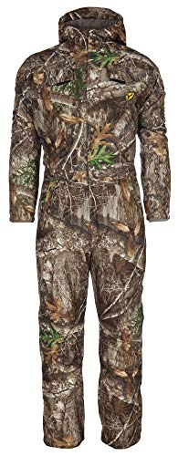 Scent Blocker Shield Series Drencher Insulated Coverall (Realtree Edge, XX-Large)