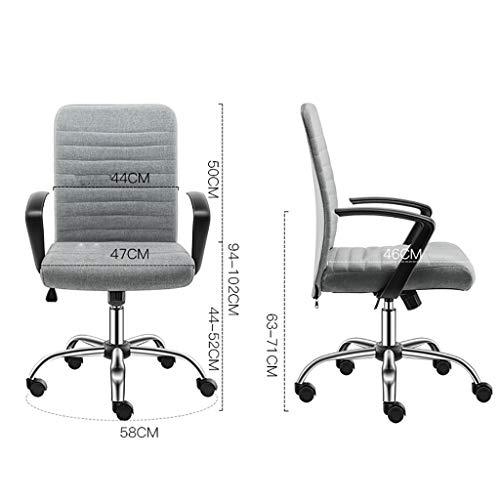 Kontorsstol, lätt och tar inte upp utrymme, flera scener finns, fyra färger kan välja datorstolen (färg: B)