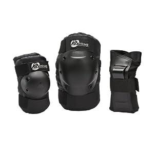 K2 Herren Prime Pad Set, schwarz/silber, XL, 3041500