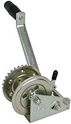 Fulton T903Z 0101 Single Speed Trailer Winch with Strap, 900 lb Lift Capacity