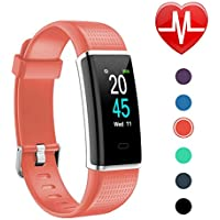 Letsfit Fitness Tracker Color Screen, Heart Rate Monitor...