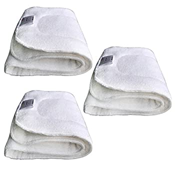 EcoAble Teen / Adult Microfiber Inserts for Incontinence Cloth Diapers (3-pack)