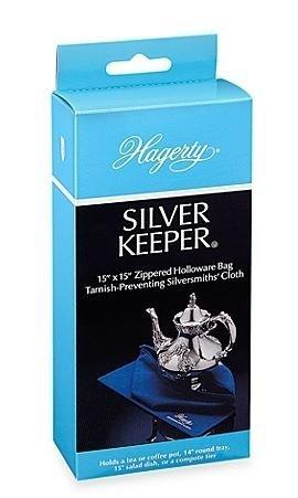 Nancy Zip Bag - Hagerty Silver Keeper 15-Inch X 15-Inch Zip Bag (1)