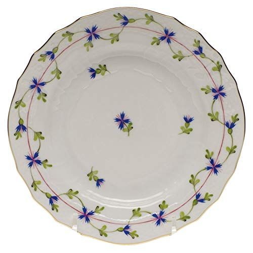 Blue Garland Bread Butter Plates - Herend Blue Garland Porcelain Bread & Butter Plate