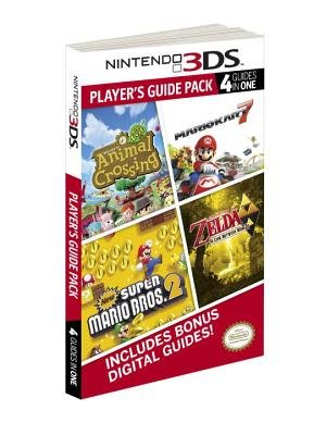 Nintendo 3DS Player's Guide Pack( Animal Crossing( New Leaf/Mario Kart 7/New Super Mario Bros. 2/The Legend of Zelda( A Link Between Worlds)[NINTENDO 3DS PLAYERS GD PACK][Paperback]
