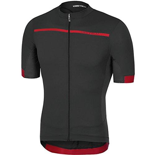 b08c24ffe Castelli Forza Pro Jersey - Men s Light Black