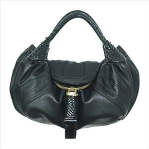 Fendi Inspired Spy Bag Black