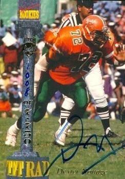 超歓迎された Autograph Autograph Warehouse 61059 Dexter Nottage M Autographed Football A Card Florida A & M 1994 Signature Rookies B0104NRTD8, Rustic Rose:4da20574 --- arianechie.dominiotemporario.com