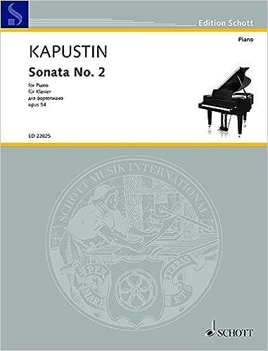 Sonata No  2 Op  54 Piano: Divers Auteurs: 0841886032712