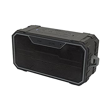 Omnigates Aeon Boombox Bluetooth Speaker Advanced Dual 5W Speaker, IPX6 Water Resistant Dust Proof, Built-in Mic Parties, Backpacks, Hiking, Camping, Beach Color Black